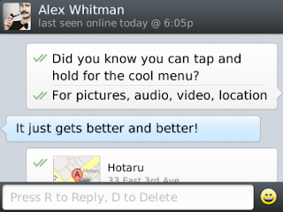 WhatsApp Messenger v2.11.179 for BlackBerry