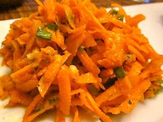 Салат из моркови в марокканском стиле