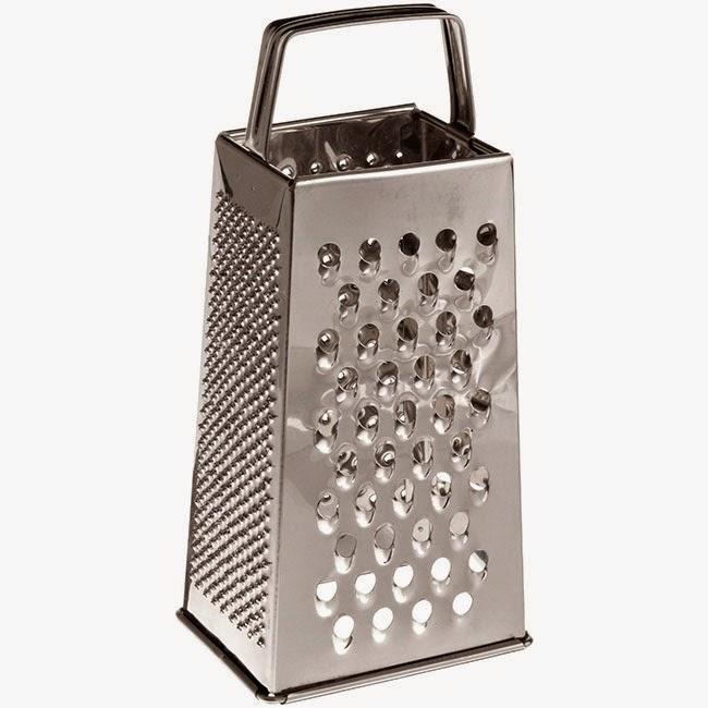Rallador de queso de acero inoxidable