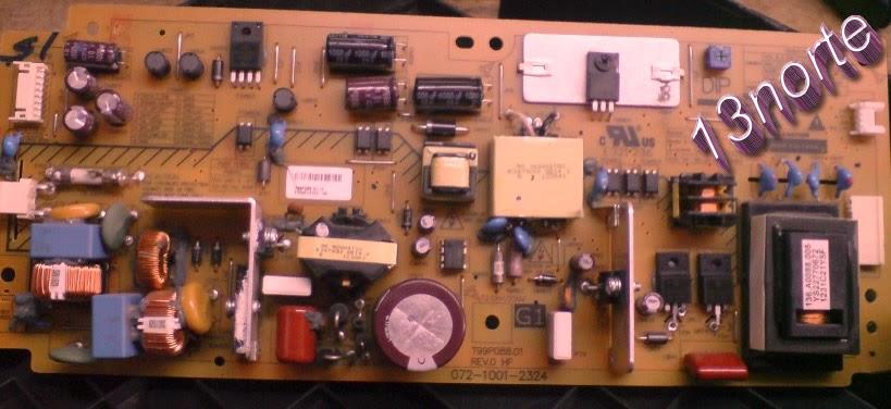 Fuente e inverter Sony KDL-32BX330
