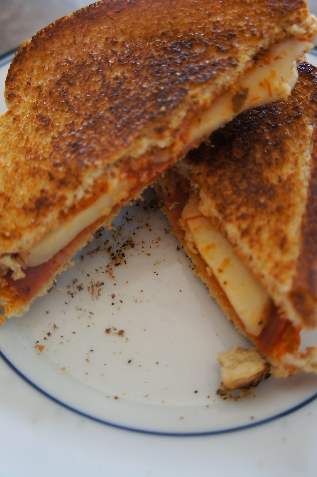 Pizza Grilled Cheese: Savory Sweet and Satisfying