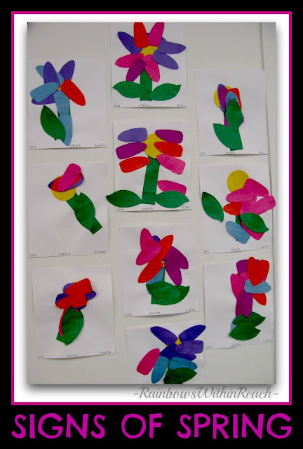 photo of: Spring Flowers at PreK+K Sharing