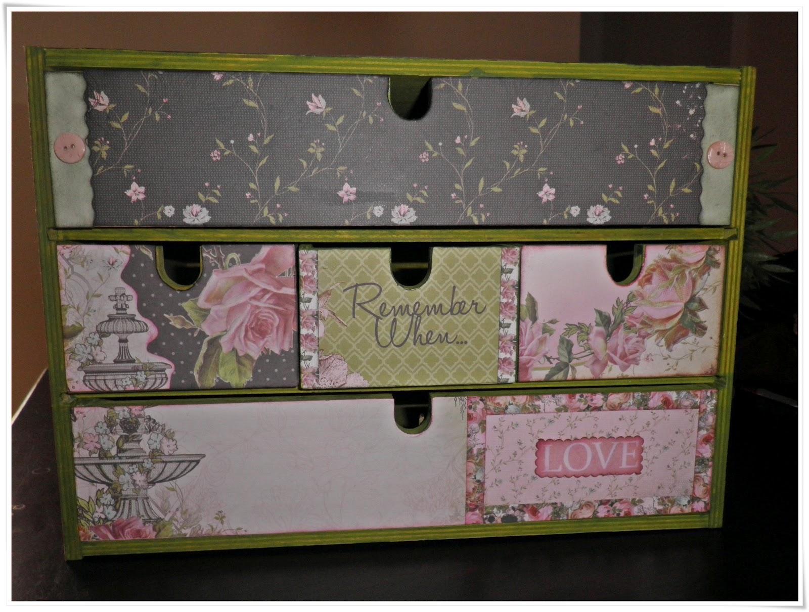 Ideas scrap caja de madera - Decorar cajas de madera manualidades ...