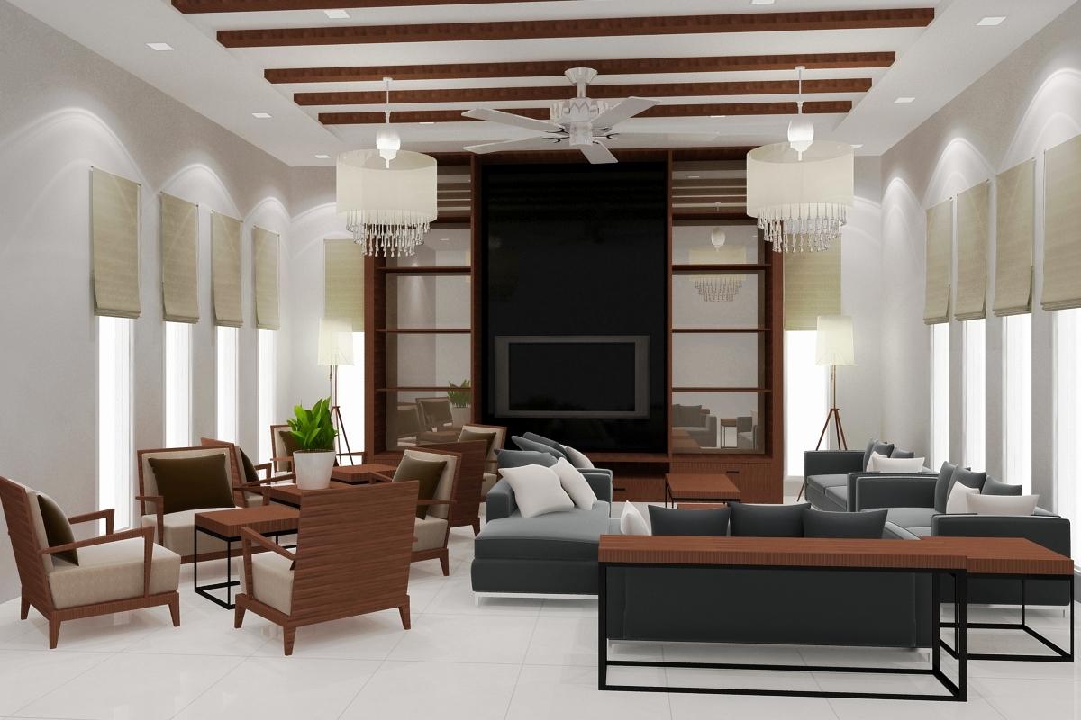 Sarang interiors interior design modern tropical by for Tropical interior designs