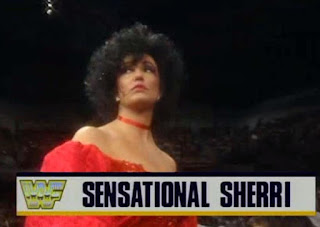 WWF/WWE ROYAL RUMBLE 1993 - Sensational Sherri and her enormous hair
