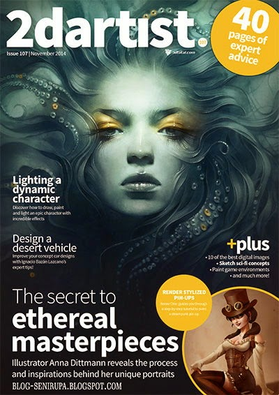 2D Artist Magazine Issue 107 2014