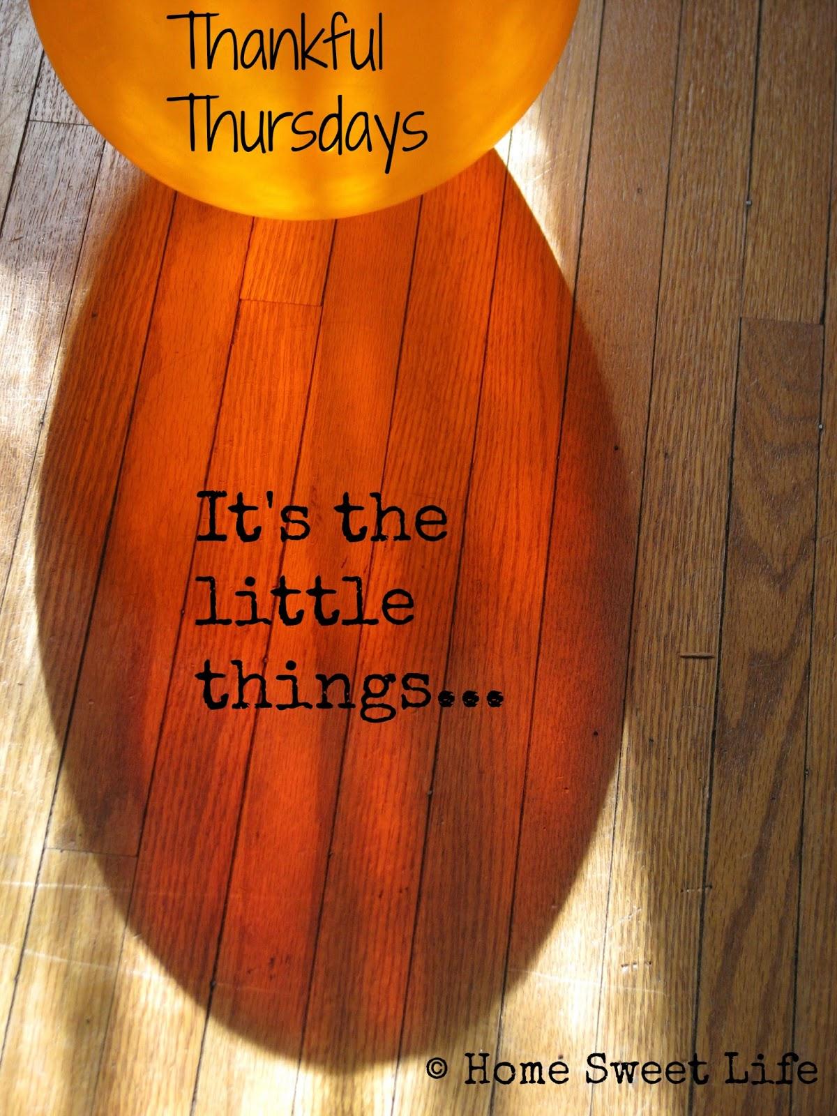 Thankful Thursdays, thankfulness