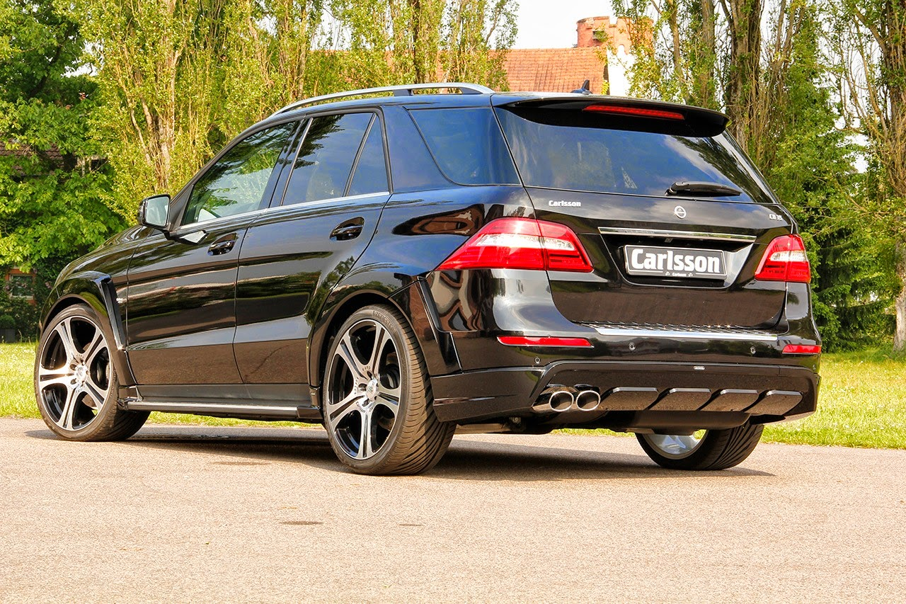 Carlsson CD35 based on MercedesBenz W166 MLClass  BENZTUNING