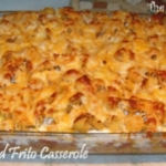 Cheesy Baked Frito Casserole #casserole #frito #baked #recipe