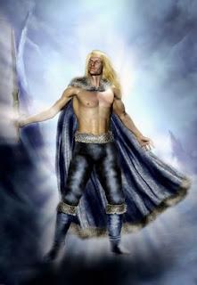 Balder, es un dios de la mitología nórdica y el segundo hijo de Odín. También es conocido como Baeldaeg. Dioses y heroes vikingos