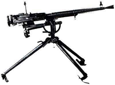 machine gun on