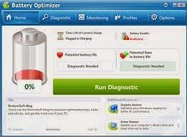 برنامج الحفاظ على بطارية اللاب توب download battery optimizer