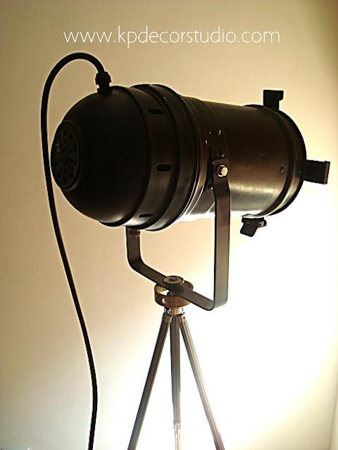 Comprar lámpara industrial original estilo vintage para decoradores