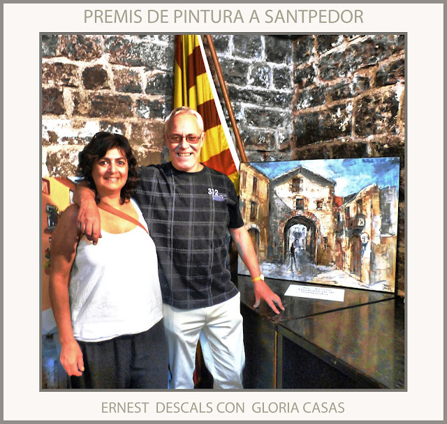 SANTPEDOR-PINTURA-PREMIS-CONCURS-PAISATGES-FOTOS-PINTORS-PINTOR--ERNEST DESCALS-GLORIA CASAS