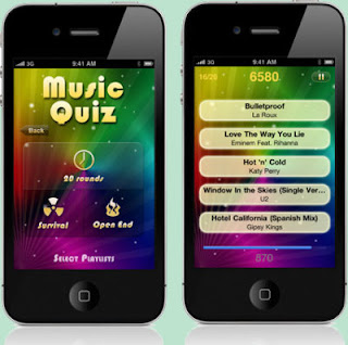 Enjoying Music With Music-Quiz Game App