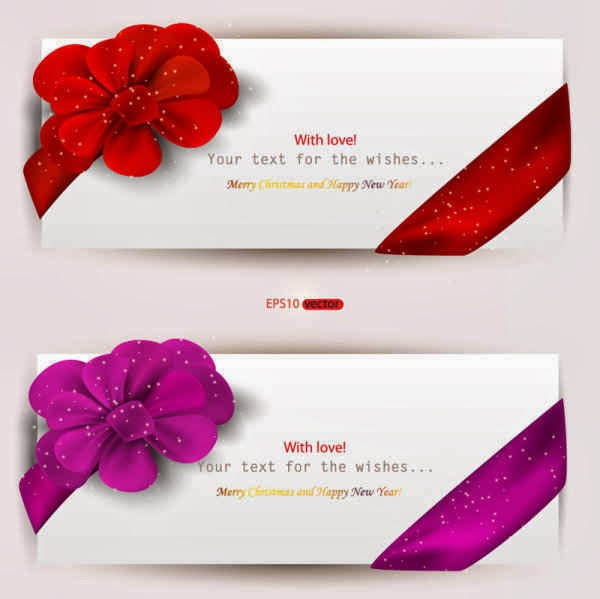 Valentines Day Set of Web Banners