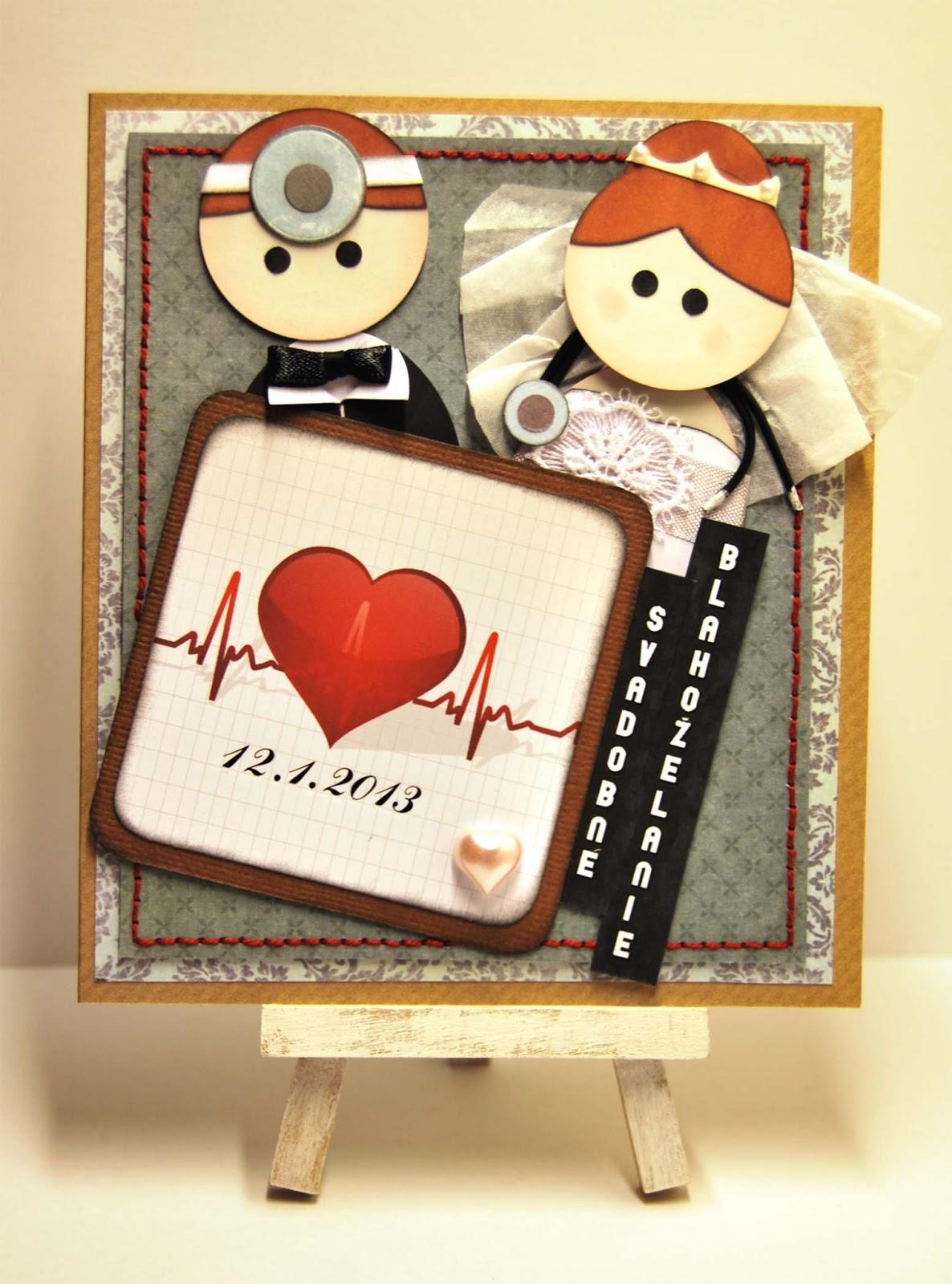 Jelly Welly : Wedding Card