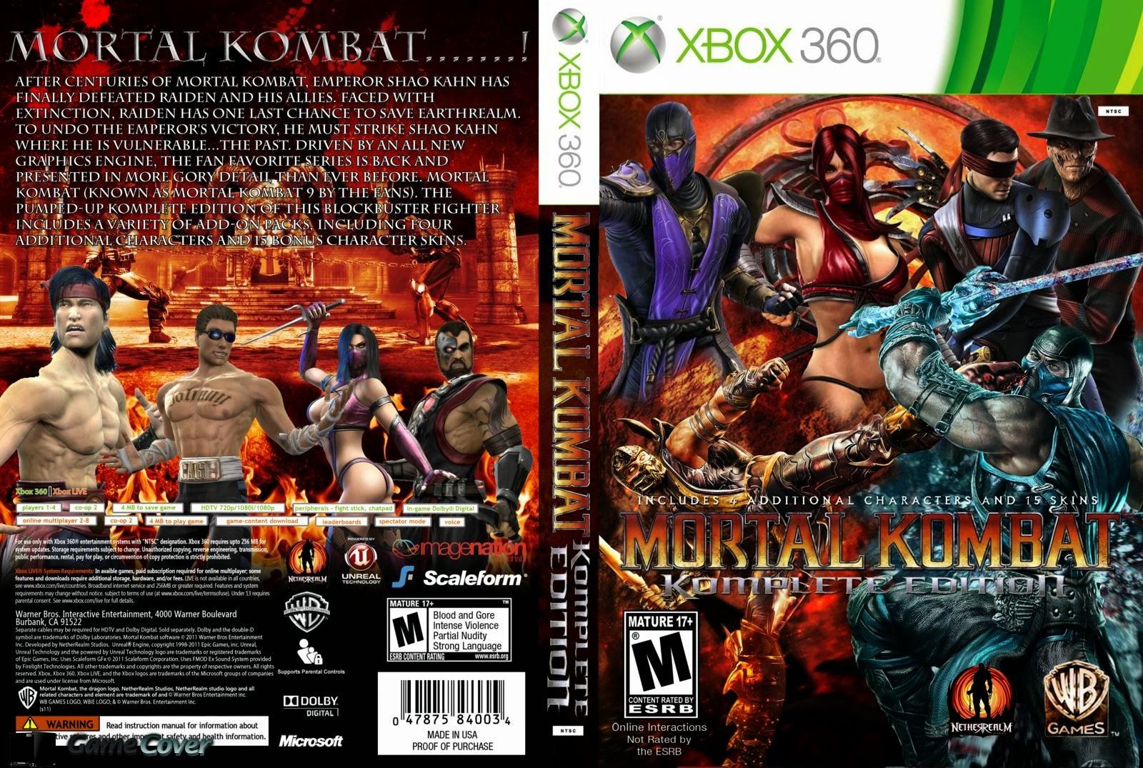 Xbox 360 mortal kombat nude mod anime video