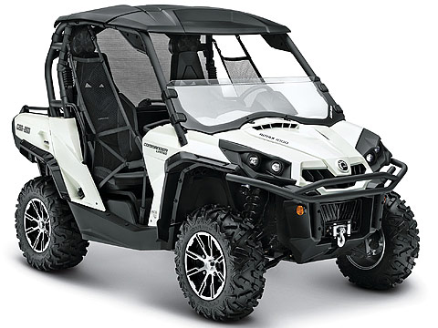 2013 Can-Am Commander 1000 Limited ATV pictures. 480x360 pixels
