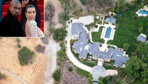 Desperdícios de água atinge os ricos como Kim Kardashian e Kanye West!