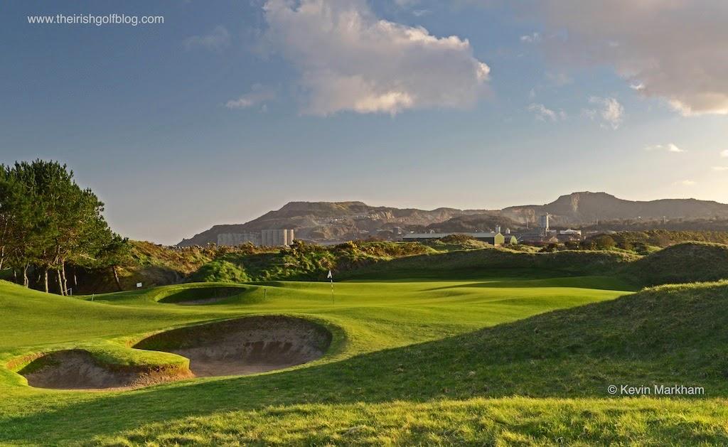 Arklow Golf Links, Ireland 2nd green