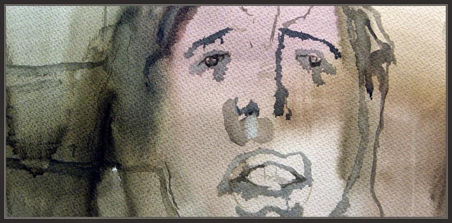 MUJER-ARTE-PINTURA-ACUARELAS-RETRATO-PINTURAS-INSINUANTES-ORGASMO-SEXO-PINTOR-ERNEST DESCALS