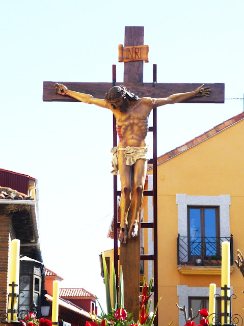 Santo Cristo del Desenclavo. Cofradía de Sanco Cristo del Deseclavo. León. Foto G. Márquez.