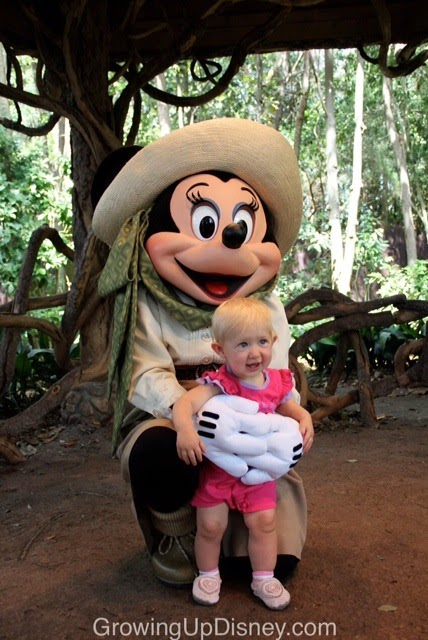 Growing Up Disney, MInnie Mouse, Disney's Animal Kingdom, Walt Disney World