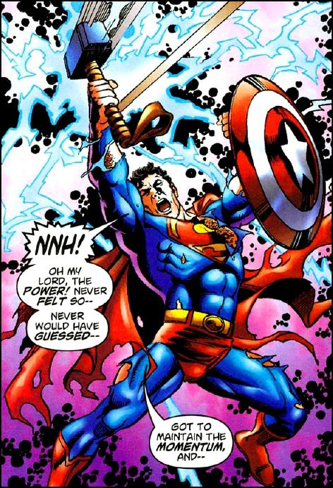 Galería de Portadores del Mjolnir - Superman