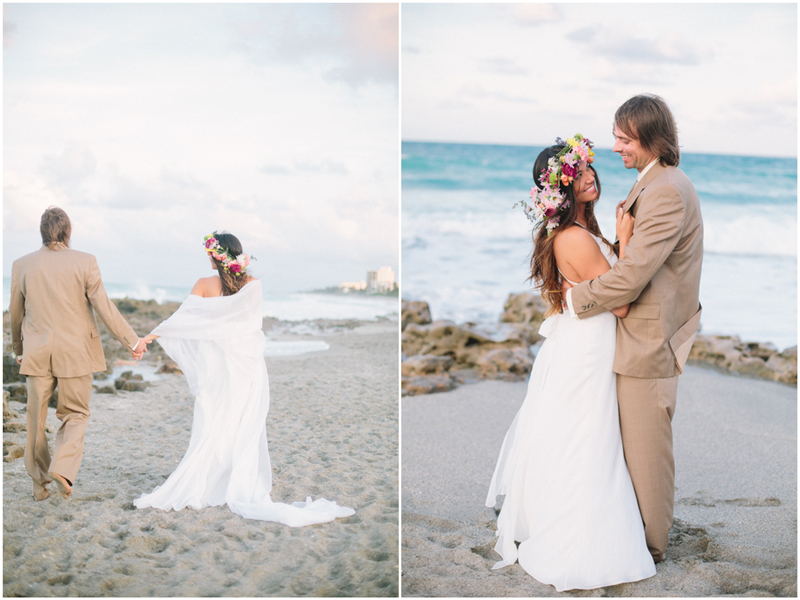 jupiter florida trash the dress photo