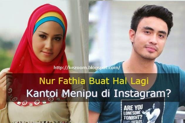 Nur Fathia Buat Hal Lagi Kantoi Menipu di Instagram