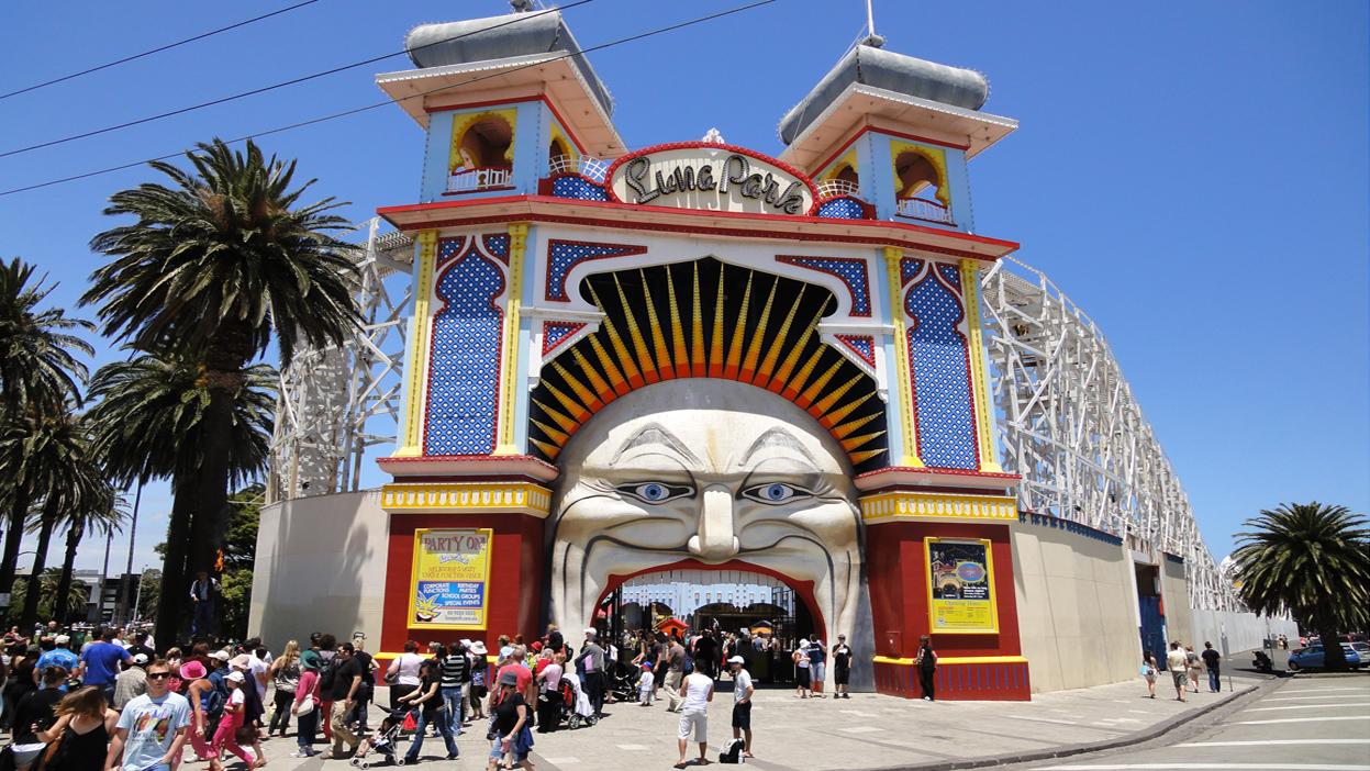 Luna park deals melbourne