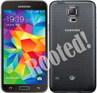 Root Samsung Galaxy S5 SM-G900W8