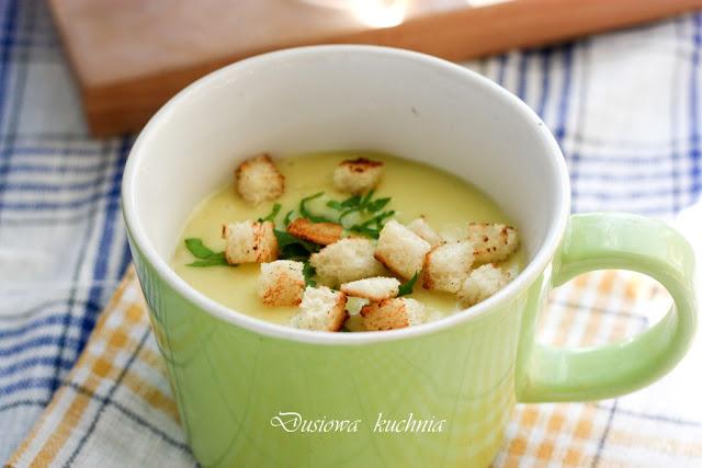 zupa czosnkowa, krem czosnkowy, krem z cozsnku, zupa krem czosnkowa, przepis na zupę z czosnku