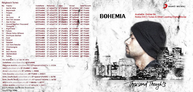 bohemia thousand thoughts download full album