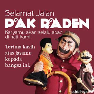 Pak Raden Meninggal
