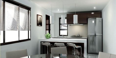 Imagenes de cocinas peque as c mo dise ar cocinas - Cocinas en ele pequenas ...