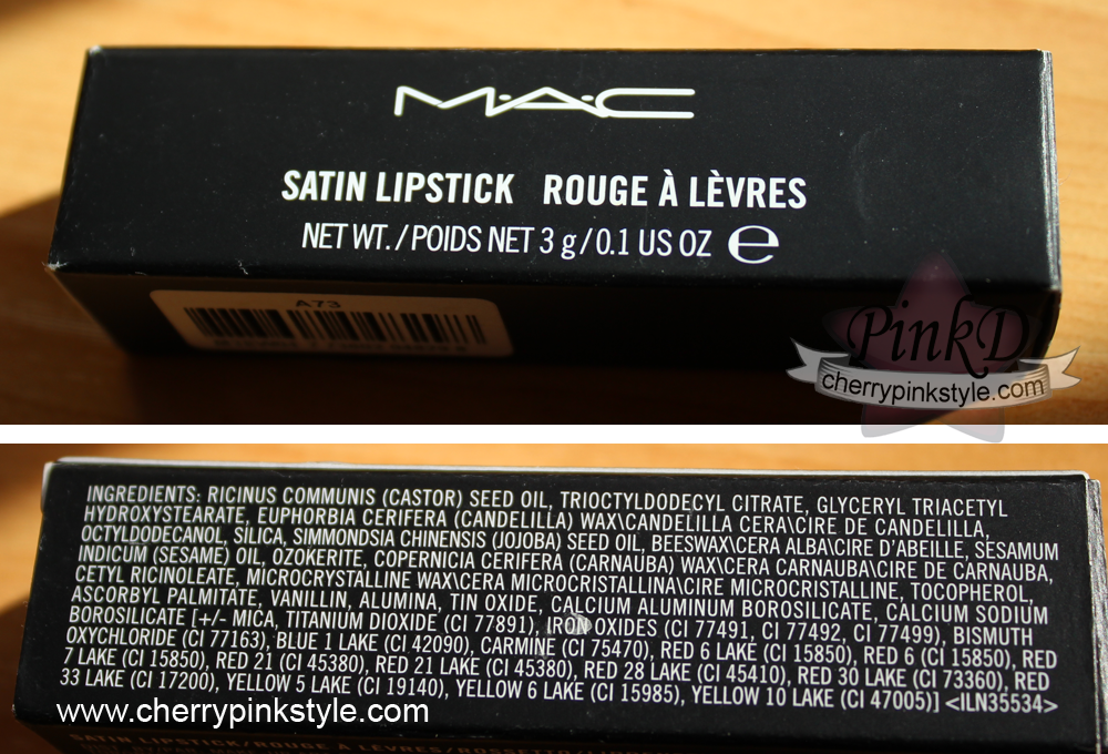 labial brave de MAC