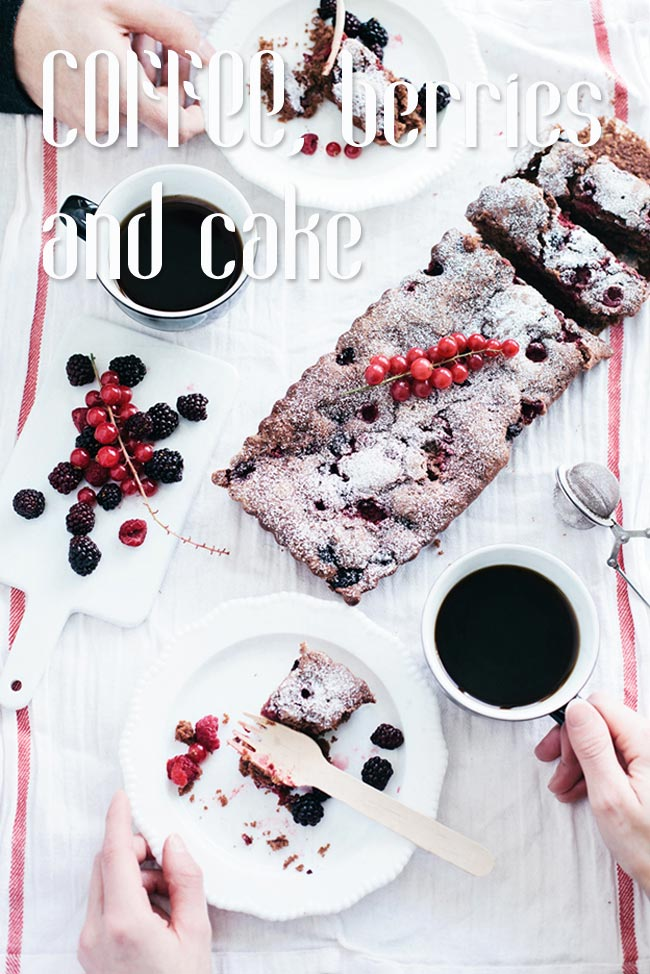 Coco Font and Chocolate Cake