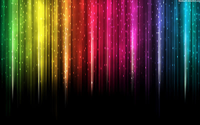 Fresh Abstract Rain ColorfulWallpaper