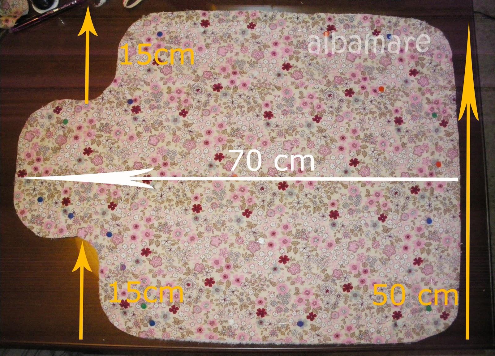 Albamare manualidades handicrafts costura para torpes - Cambiador bebe medidas ...