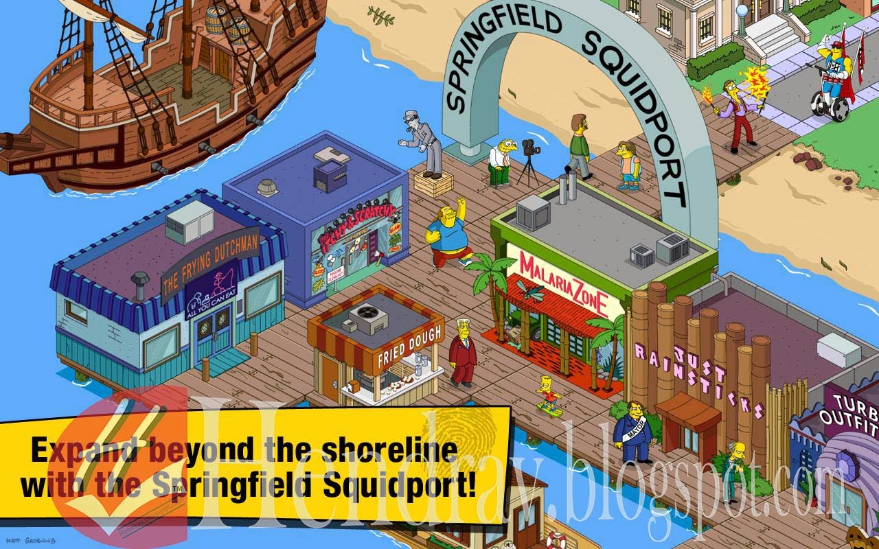Download Games Android The Simpsons™: Tapped Out v4.9.5 APK ~ All