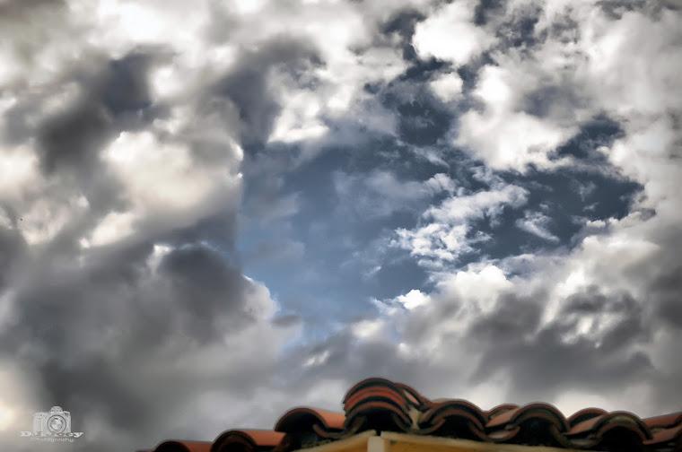 Dark Gloomy Radioactive Cloud