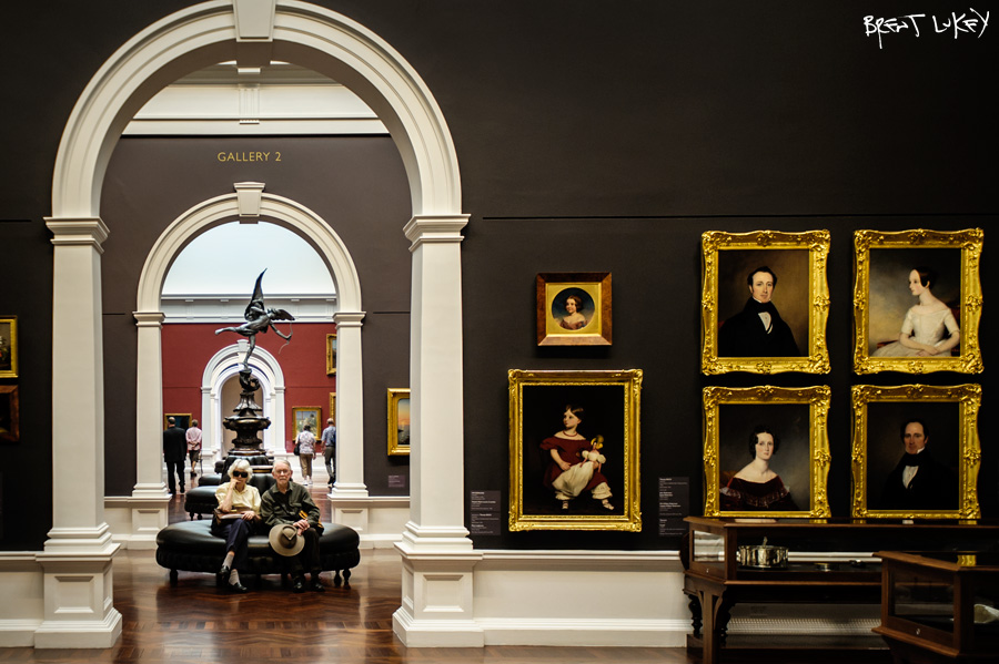'Art Gallery of South Australia' Brent Lukey 2014.