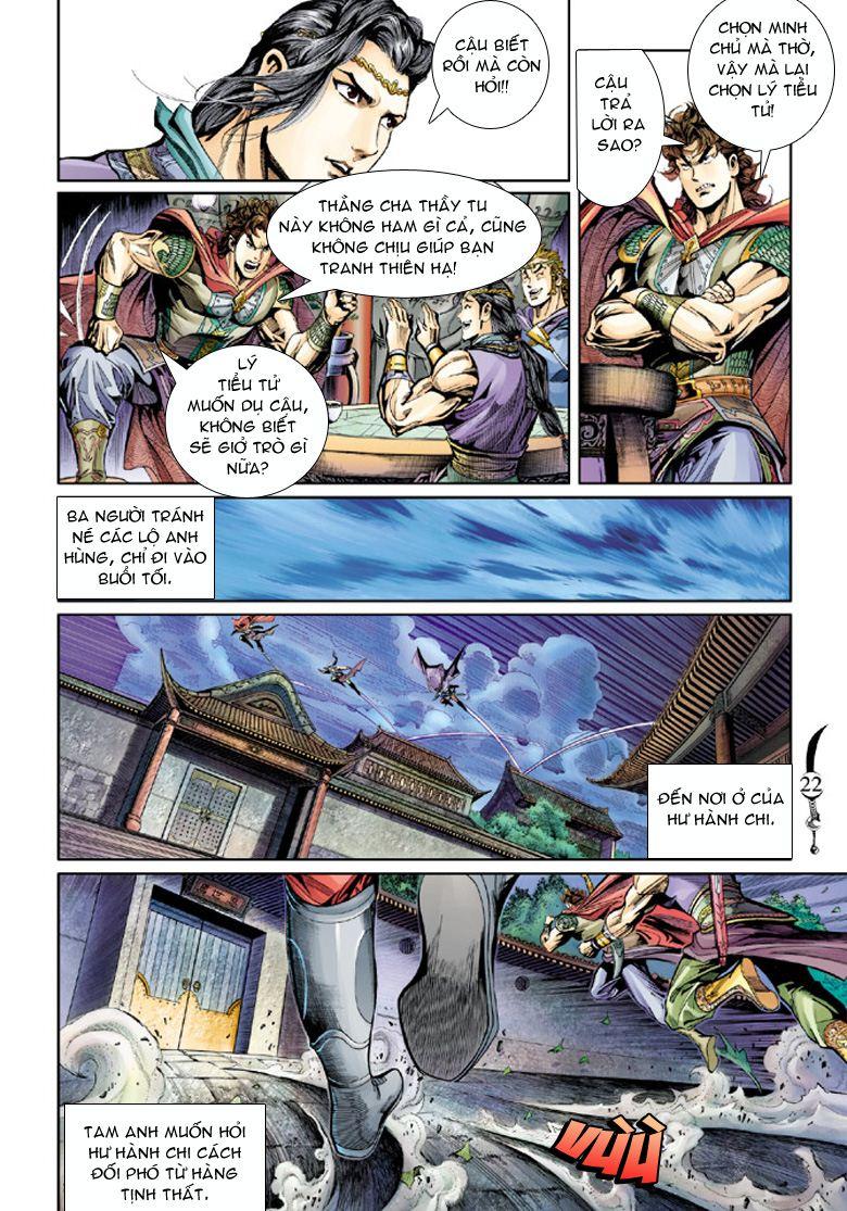 Đại Đường Song Long Truyện chap 39 - Trang 21