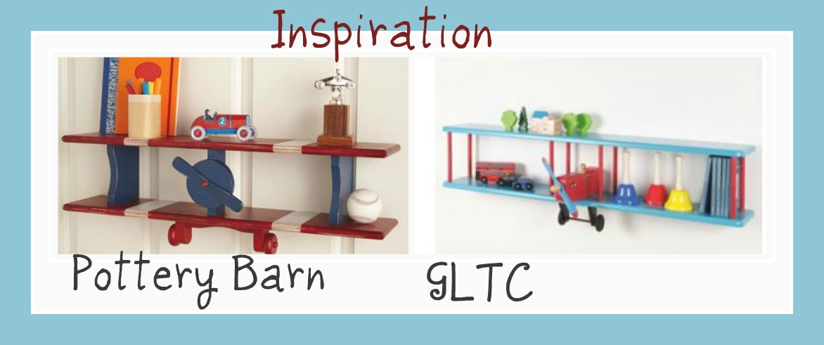 Pottery Barn Airplane Crib Bedding