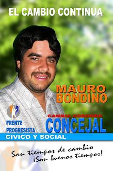 Mauro Bondino, juventud y experiencia.