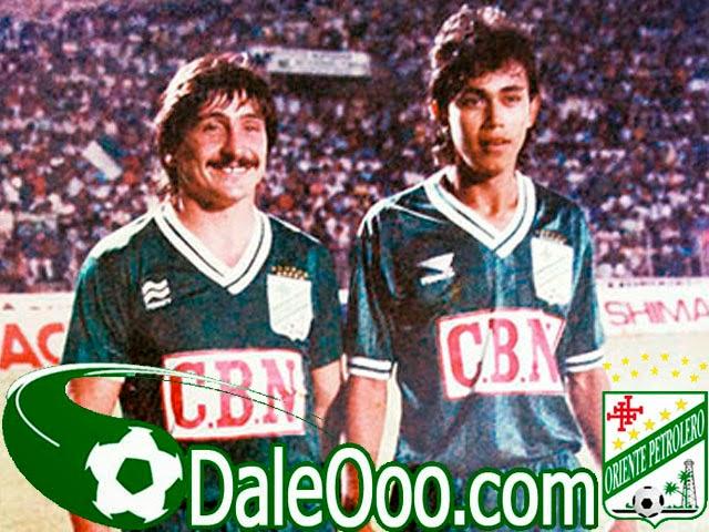 Oriente Petrolero - Roberto Brunetto - Fernando Alba - DaleOoo.com web del Club Oriente Petrolero
