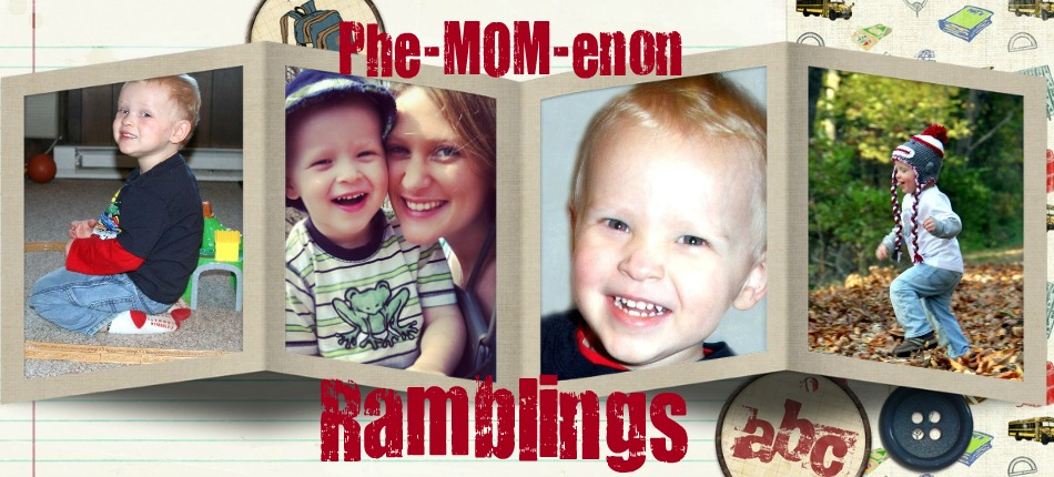 Phe-MOM-enon Ramblings
