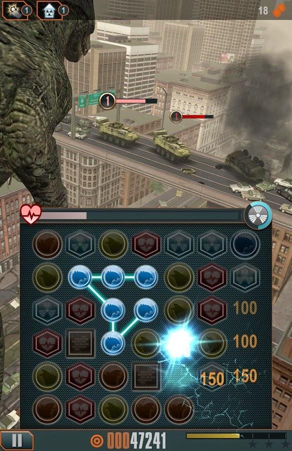 Godzilla Smash3 v1.2.0 Mod Android